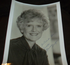 HAND SIGNED VINTAGE 8X10 UNKNOWN UNITED STATES SENATOR - $6.08