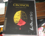 Cronos (DVD, 2010, Criterion Collection) SIGNED BY GUILLERMO DEL TORO RARE