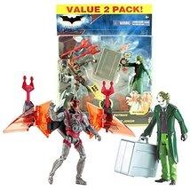 Mattel Year 2008 DC Comics The Dark Knight Series 2 Pack 6 Inch Tall Act... - $44.99
