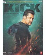Kick Hindi DVD Stg: Salman Khan, Jacqueline Fernandez (2014 Bollywood film) - $14.84