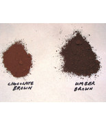 1 LB. CHOCOLATE CONCRETE COLOR PIGMENT, DYE FOR CEMENT, PLASTER, FREE SH... - $14.98