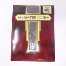 Vintage Charter Club Day Sheer Control Top Pantyhose Size D Taupe - $4.42