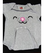 The Big Bang Theory - Soft Kitty Face Onesie - Ash Grey - (3-6 Months) - $13.08