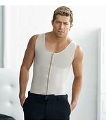 Ann Chery Men's Chaleco Body Shaper Vest With Zipper - $110.00