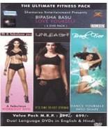 Bipasha Basu - Love Yourself Trilogy (Fit & Fabulous You, Unleash & Brea... - $24.74