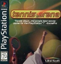 Tennis Arena PS1 Great Condition Fast Shipping - $8.94