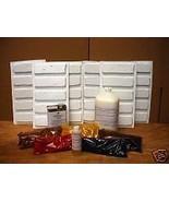 Antique Brick Supply Kit + 30 Molds Make 1000s of Brick Veneer for Walls... - $234.99