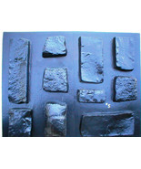 #OKL-05 Limestone Veneer Stone Concrete Molds (10) Make Stone For Pennie... - $99.99