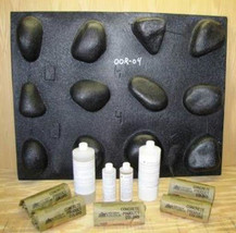 #OOR-60K River Rock Stone Veneer DIY Kit With 60 Molds Make Stone For Pe... - $519.95
