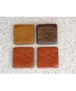 Daisy Pattern Tile Molds (12-4x4) Make 100s Wall Counter Floor Tiles for... - $32.99