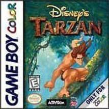 Disney's Tarzan Gameboy Color Great Condition - $5.93