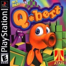 Q Bert PS1 Great Condition Complete Fast Shipping - $8.94