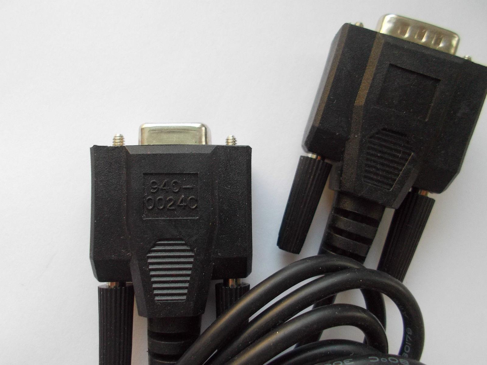 original NEW 2 meter data cabel APC 940-0024C smart DB9M-DB9F - $10.00