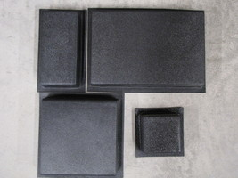 #5006K SUPPLY KIT w12 DRIVEWAY PAVER MOLDS MAKES 100s OPUS ROMANO PATTERN PAVERS image 1