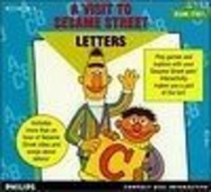 A Visit To Sesame Street Letters CD-i Mint Condition - $29.93