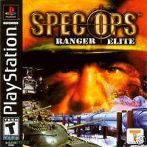 Spec Ops Ranger Elite PS1 Great Condition Complete - $2.64