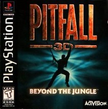 Pitfall 3D PS1 Great Condition Complete Fast Shipping - $9.93
