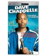 Dave Chappelle For What It's Worth UMD PSP Complete - $9.93