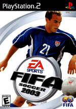 FIFA Soccer 2003 PS2 Great Condition Complete Fast Shipping - $8.94