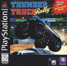 Thunder Truck Rally PS1 Great Condition Fast Shipping - $6.24