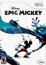 Epic Mickey Wii Great Condition Complete Fast Shipping - $8.94