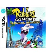 Rabbids Go Home Nintendo DS Great Condition Complete - $15.24
