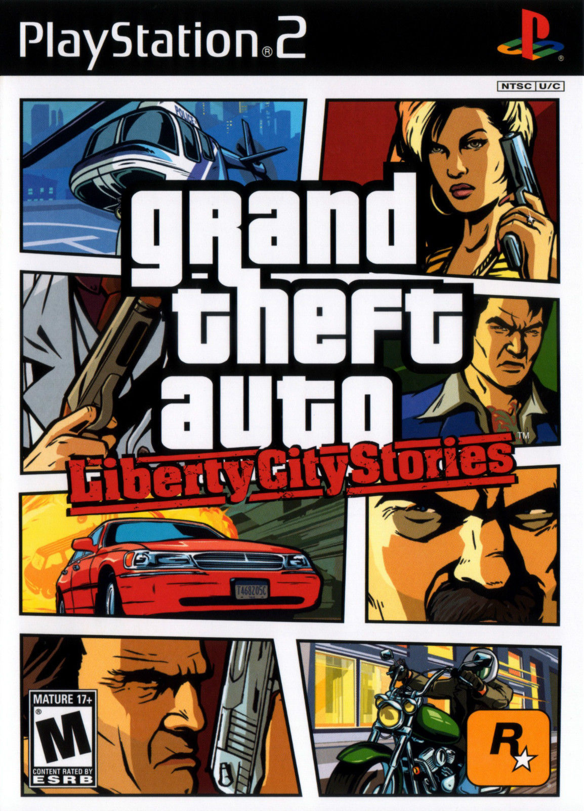 Grand Theft Auto Liberty City Stories PS2 Great Condition Complete Fast Shipping