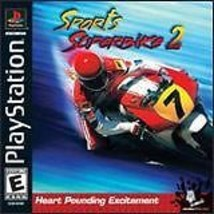 Sports Superbike 2 PS1 Mint Condition Complete - $5.93