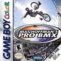 Mat Hoffman's Pro BMX Gameboy Color Great Condition - $4.93
