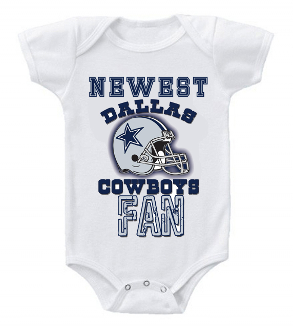 New Cute Funny Baby e Piece Bodysuit Football Newest Fan