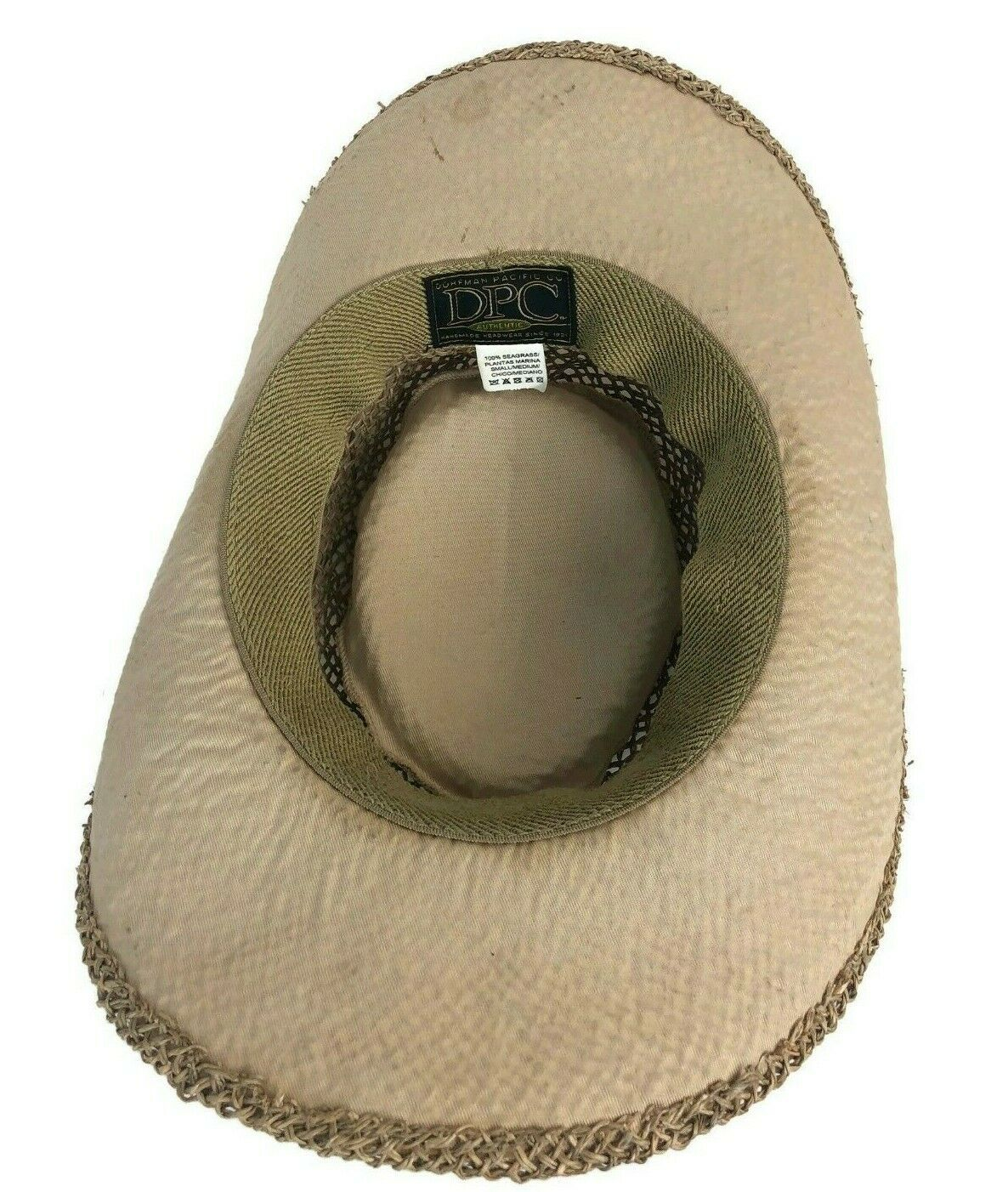 DPC Dorfman Pacific Co. Dad Miller Golf Course Men's Seagrass Straw Hat Small image 3
