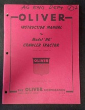 Original Oliver Instruction Manual for HG Crawler Tractor - 9th Edition - $34.60