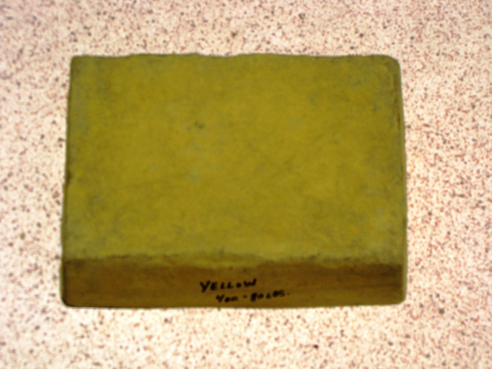 115-25 Yellow Concrete Cement Powder Color 25 Lbs. Makes Stone Pavers Tile Brick