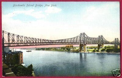BLACKWELLS ISLAND BRIDGE NEW YORK Roosevelt NY Queens