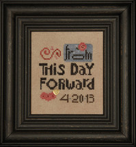 From This Day Forward cross stitch chart Heart in Hand - $7.65