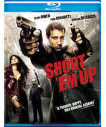 Shoot 'Em Up Blu-ray Disc Great Condition Fast Shipping - $8.94