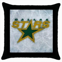 Dallas Stars Throw Pillow Case - NHL Hockey - $16.44