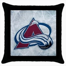 Colorado Avalanche Throw Pillow Case - NHL Hockey - $16.44