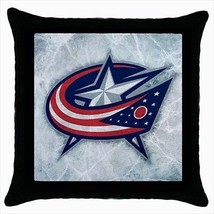 Columbus Blue Jackets Throw Pillow Case - NHL Hockey - $16.44
