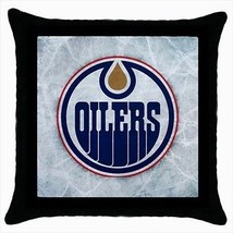 Edmonton Oilers Throw Pillow Case - NHL Hockey - $16.44