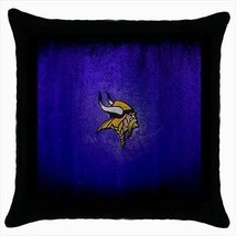 Minnesota Vikings Throw Pillow Case - NFL Football - $16.44