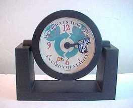 Disney Cast Members Only Trash Bin Environmentality Desk Clock - $7.99