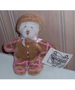 "Ganz Wee Bear Village Ginger-Bread Costume Sweet 5"" White Bear - $3.99"