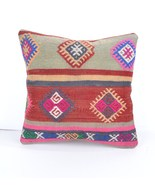 "16x16""antique throw pillow decorative pillow cushion salon decor oriental decor - $14.00"