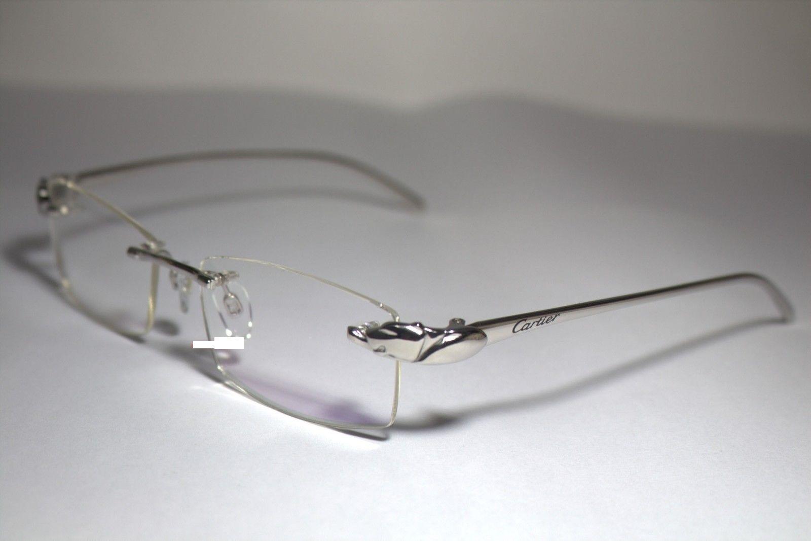e4934e9fd59 Cartier Rimless Eyeglasses Silver « Heritage Malta
