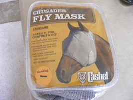 Cashel Crusader fly mask, warmblood size,  - $19.00