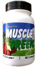 ORGANIC MUSCLE GREENS Fruit Vegetable Powder Super Food ORAC Energy Acid... - $49.99
