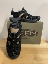 Keen Whisper Black/Magnet Size 7.5-US Womens (38EU) - $45.00