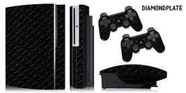 Skin Decal Wrap for PS3 Original Fat Playstation Gaming Console Controller DP B - $13.96