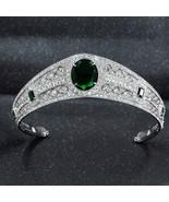NEW Real Austrian Rhinestone CZ Princess Eugenie Wedding Bridal Tiara Cr... - $80.15